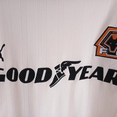 "Wolverhampton Wanderers FC Away Shirt 1999-2000 (M) ""Very Good"""