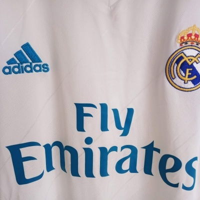 NEW Real Madrid Home Shirt 2017-2018 (XL)