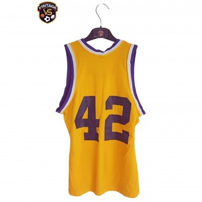 "Vintage LA Los Angeles Lakers NBA Jersey #42 (S) ""Very Good"""