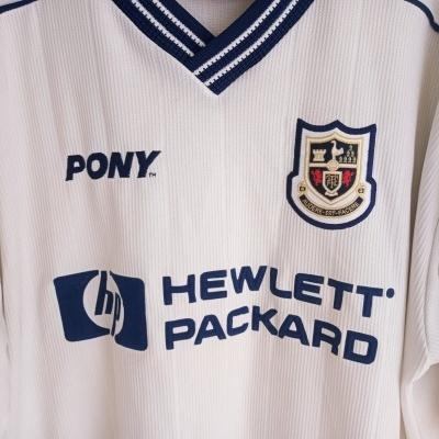 """Tottenham Hotspurs Home Shirt 1997-1998 #23 Campbell (XL) """"Very Good"""""""