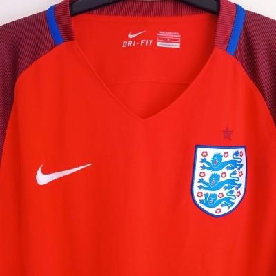 """England Away Shirt 2016-2017 (L) """"Perfect"""""""