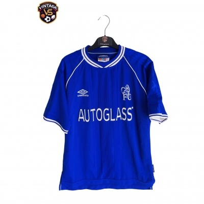 """Chelsea FC Home Shirt 1999-2000 (Youths) """"Very Good"""""""
