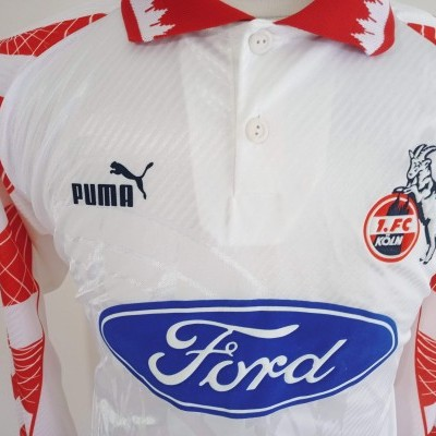 "1.FC Köln Home Long Sleeve Shirt 1996-1997 (L) ""Very Good"""