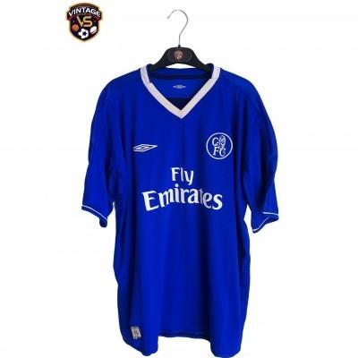 "Chelsea FC Home Shirt 2003-2004 #15 Drogba (XL) ""Very Good"""