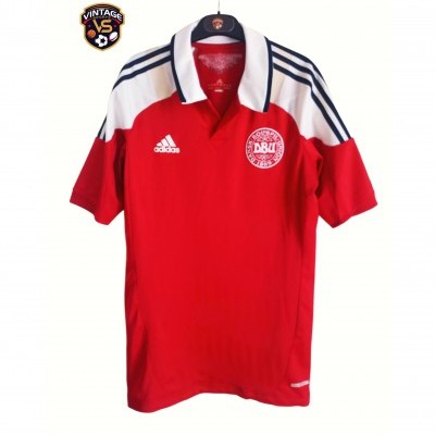 "Denmark Home Shirt Player Issue 2012 (L) ""Good"""