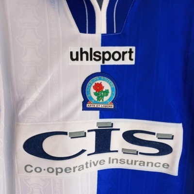 "Blackburn Rovers Home Shirt 1998-1999 (Youths) ""Very Good"""