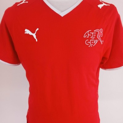 "Switzerland Home Shirt 2008-2010 (XL) ""Very Good"""