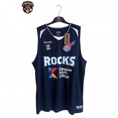 NEW Glasgow Rocks Basketball Jersey (L)
