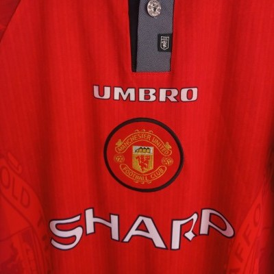 """Manchester United Home Shirt 1996-1998 (M) """"Perfect"""""""