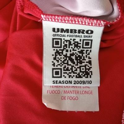 "Nottingham Forest Home Shirt 2009-2010 (XL) ""Perfect"""