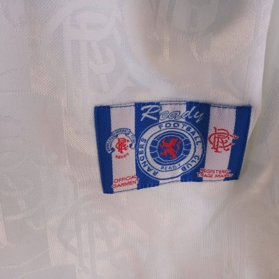 NEW Glasgow Rangers FC Away Shirt 1996-1997 (XL)