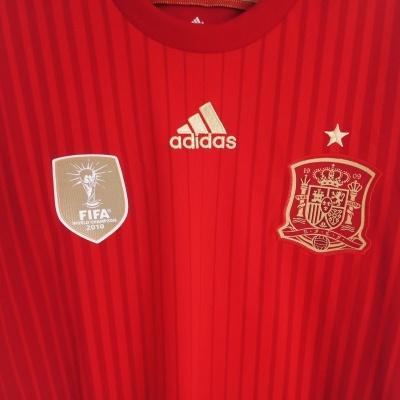 """Spain Home Shirt 2014-2015 (L) """"Perfect"""""""