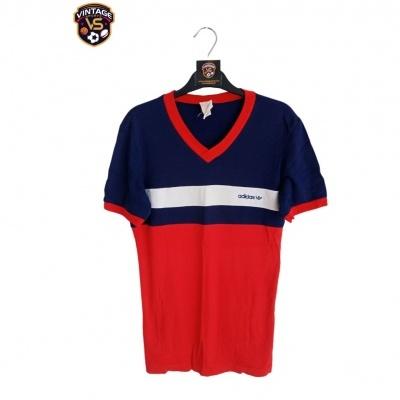 "Vintage Adidas Europa Shirt Red Blue (M) ""Very Good"""