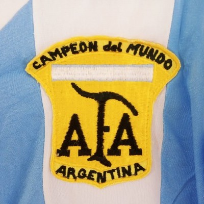"Argentina Home Shirt 1980 (XS) ""Very Good"""