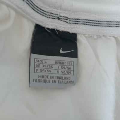 "Footbal Shorts Nike White Black Logo (L) ""Very Good"""