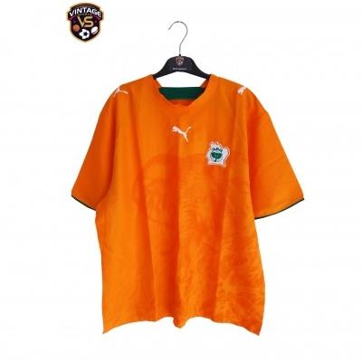 "Ivory Coast Home Shirt 2006-2008 (XL) ""Perfect"""