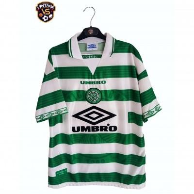 "Celtic Glasgow FC Home Shirt 1997-1999 (M) ""Very Good"""
