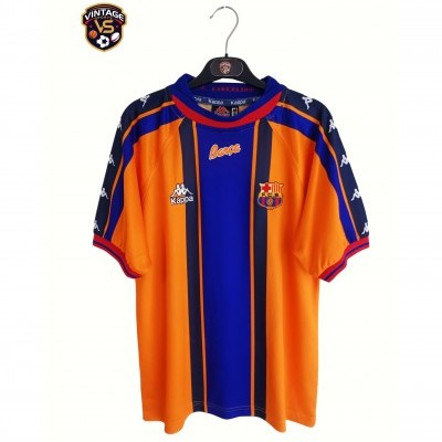 "FC Barcelona Away Shirt 1996-1997 (M) ""Good"""
