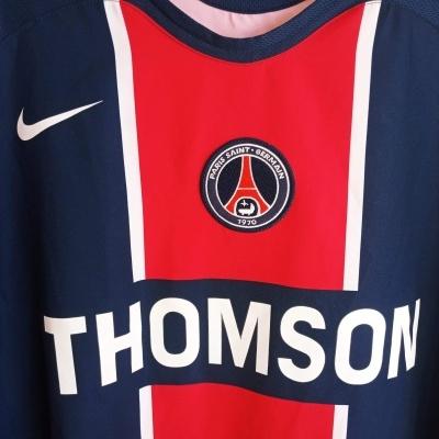 "Paris SG PSG Home Shirt 2005-2006 (XL) ""Very Good"""