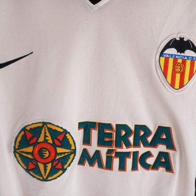 "Valencia CF Home Shirt 2000-2001 (XL) ""Very Good"""