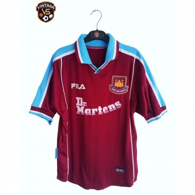 "West Ham United Home Shirt 1999-2001 (M) ""Very Good"""