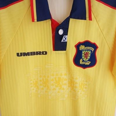 "Scotland Away Shirt 1996-1998 (Boys) "" Good"""