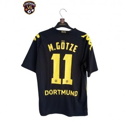 """BVB Borussia Dortmund Away Shirt 2011-2012 #11 Götze (S) """"Very Good"""""""