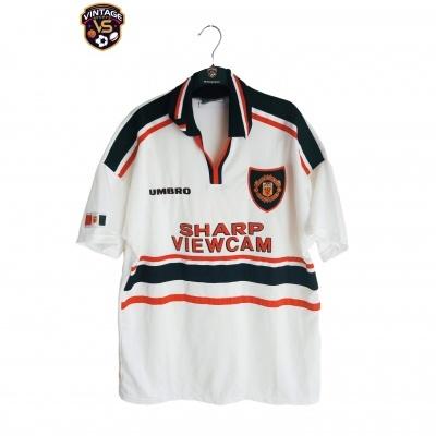 """Manchester United Away Shirt 1997-1999 (XL) """"Very Good"""""""