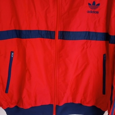 "Windbreaker Jacket Adidas World Cup Spain 1982 (XL) ""Very Good"""