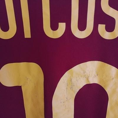 "Portugal Home Shirt 2000-2002 #10 Rui Costa (L) ""Good"""