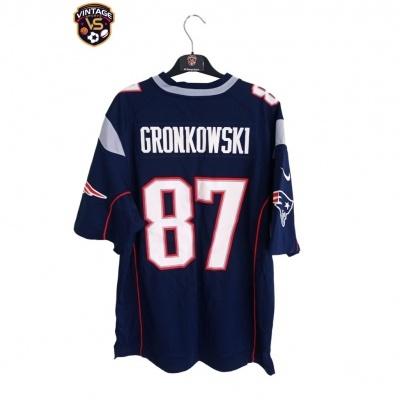 "New England Patriots NFL Jersey #87 Gronkowski (M) ""Very Good"""