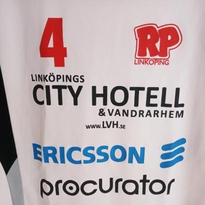 "Matchworn RP IF Linkoping Handball Shirt #4 (S) ""Very Good"""