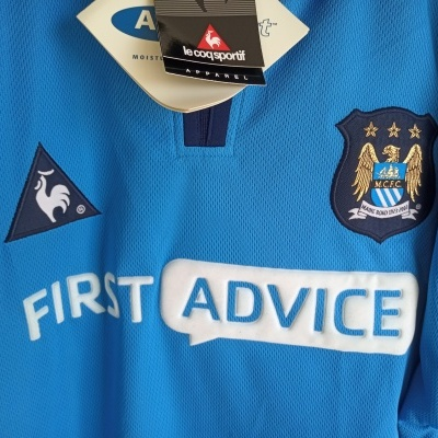 NEW Manchester City Home Shirt 2002-2003 (L)