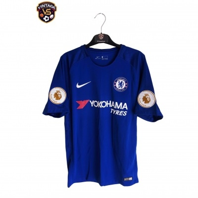 "Chelsea FC Home Shirt 2017-2018 #2 Rudiger (S) ""Perfect"""
