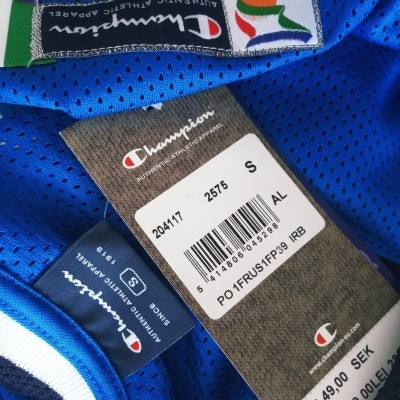 NEW Italy Basketball Home Shirt (S)