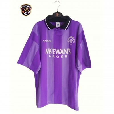 "Glasgow Rangers FC Third Shirt 1994-1995 (XL) ""Very Good"""
