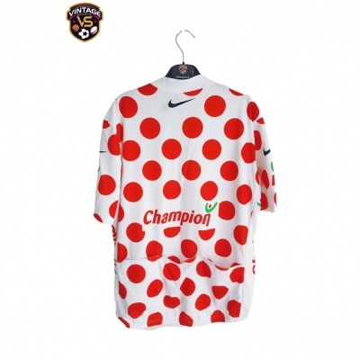 "Tour de France 2007 Cycling King of the Mountain 1/2 Zip Jersey (XL) ""Very Good"""
