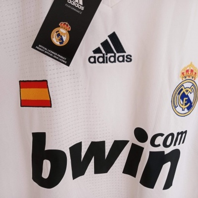 NEW Real Madrid Home Shirt 2008-2009 (L)