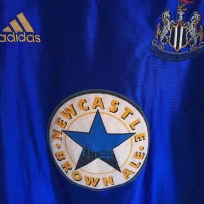 "Newcastle United Away Shirt 1998-1999 (L) ""Good"""