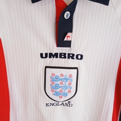 """England Home Shirt 1997-1999 (Youths) """"Very Good"""""""