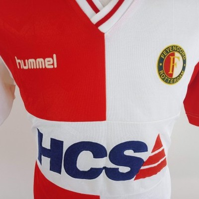 "Feyenoord Rotterdam Home Shirt 1989-1991 (XL) ""Good Condition"""