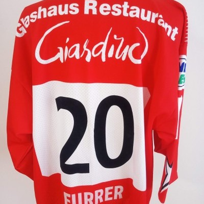 "EHC Winterthur Ice Hockey Jersey #10 Furrer (XXL) ""Very Good"""