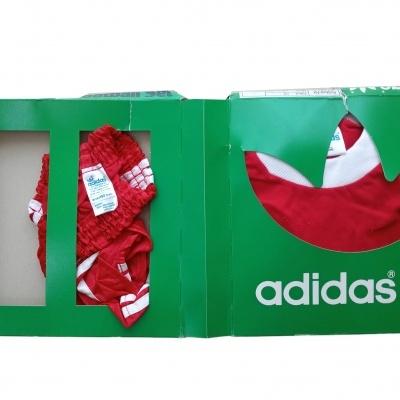 Vintage Adidas Football Set Beckenbauer Bayern 1980 Shirt Shorts