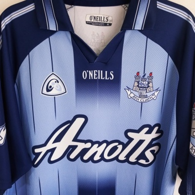 "Dublin GAA Gaelic Home Shirt Jersey 2004-2006 (M) ""Very Good"""