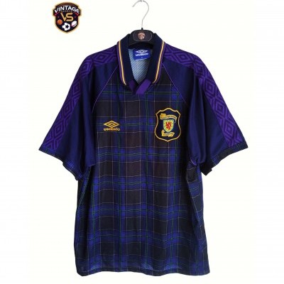 "Scotland Home Shirt 1994-1996 (XL) ""Very Good"""