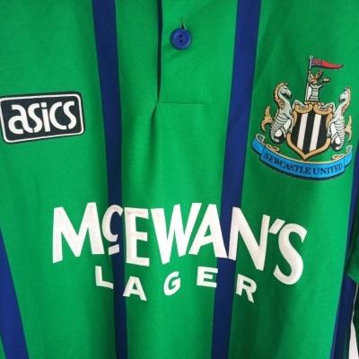 "Newcastle United Third Shirt 1993-1995 (L) ""Very Good"""
