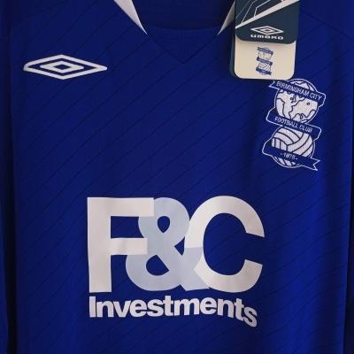 NEW Birmingham City FC Home Shirt 2008-2009 (XXL)
