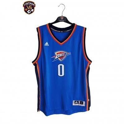 "Oklahoma City Thunder NBA Swingman Christmas Day Jersey #0 Russell (L) ""Perfect"""