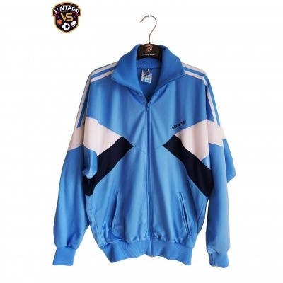 "Vintage Track Top Jacket Adidas Blue (S-M) ""Good"""