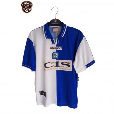 "Blackburn Rovers Home Shirt 1998-1999 (XL Youths) ""Good"""